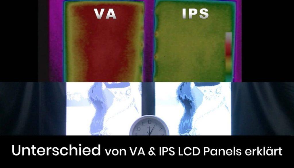 Was ist der Unterschied zwischen VA & IPS LCD Panels?